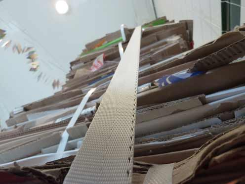 Benchmark-cardboard-bales