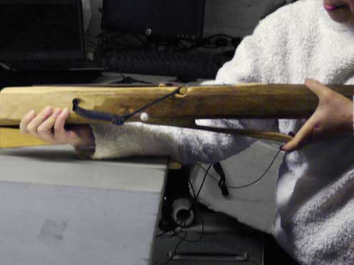 Hinchee Hung Fire-sawn off crossbow